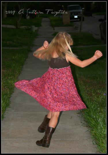 spinning princess