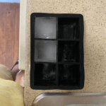 Ice Cube Tray, 2-Pack Large Ice Silicone Cube Maker Ice Square Tray Making 8 Giant Ice Cubes for Whiskey and Cocktail, Bar and Home photo review