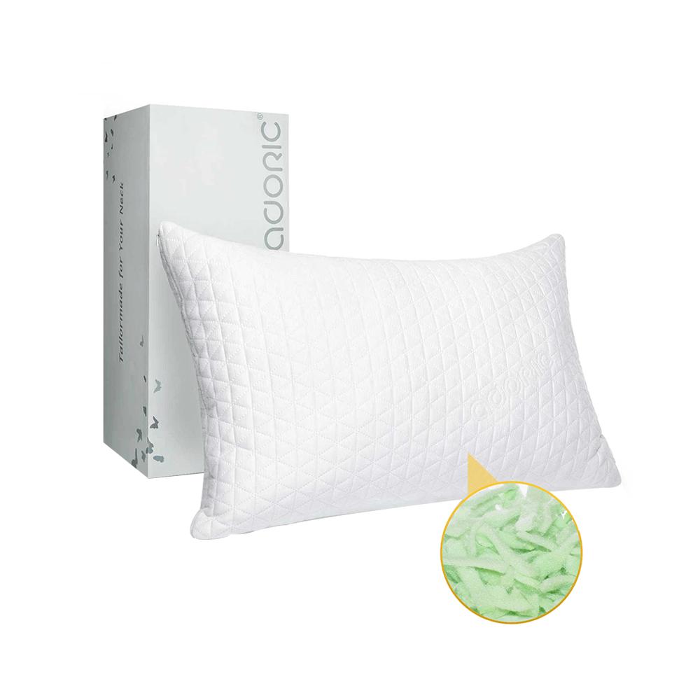 Bamboo fiber shredded memory foam pillow (2036ADORIC brand).jpg