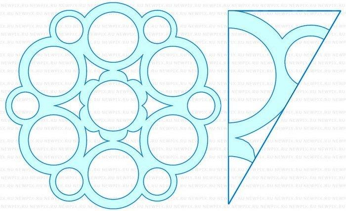 Openwork Snowflake