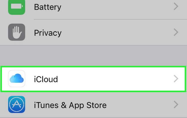 การเปิดใช้งาน iCloud