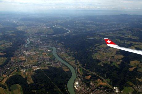 Landing at ZRH
