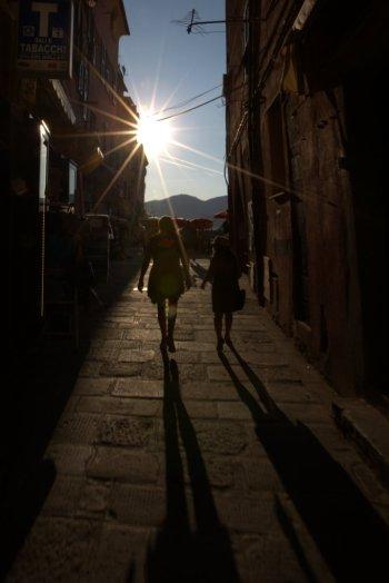 Strolling through Vernazza