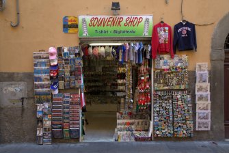 Souveniers everywhere