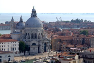 Looking over Venice
