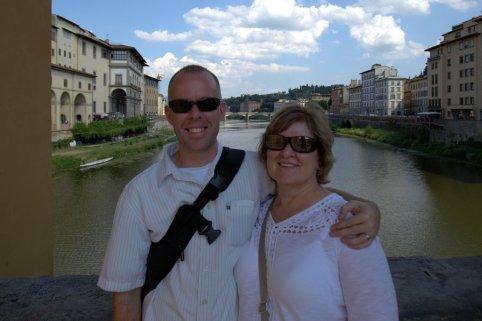 Above Arno River