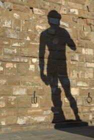 The shadow of David