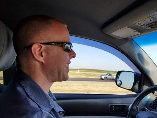 Captain Kirk Driving I-5