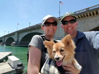 At the London Bridge... in Lake Havasu, AZ