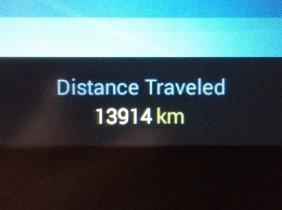 13914 kilometers