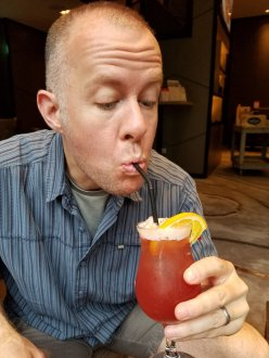 Tasting the Singapore Sling