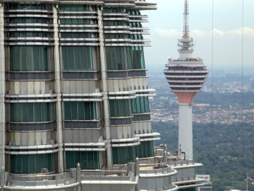Petrona and KL Tower