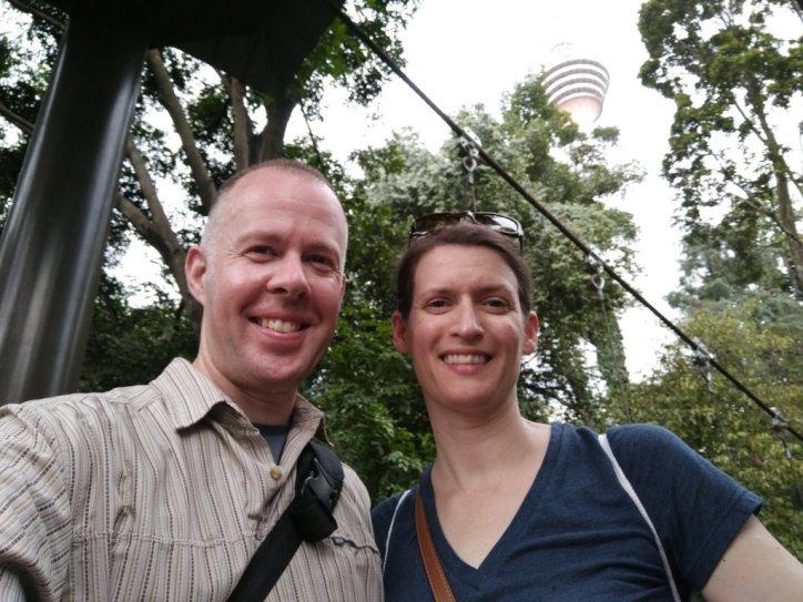 Selfie on the Skywalk