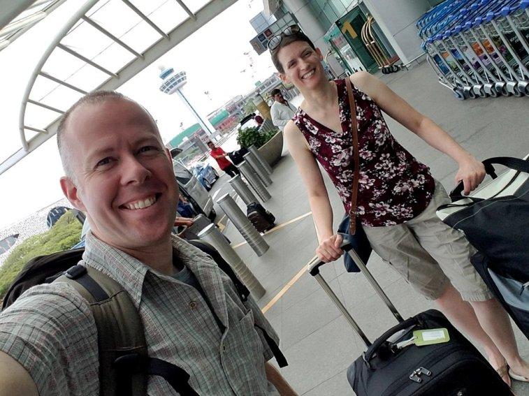 Leaving Singapore to Phuket, Thailand