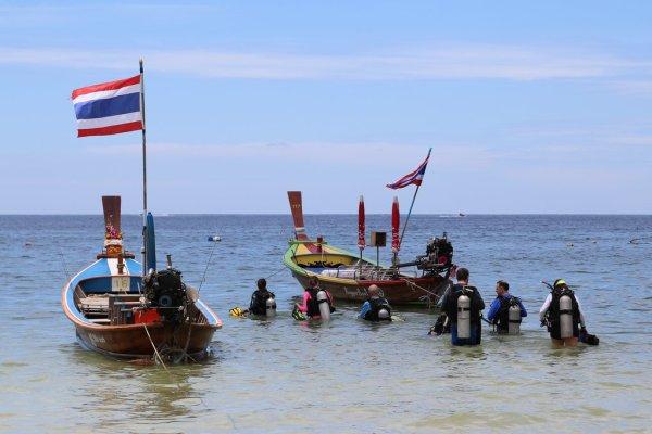 Dive #2 at Kata Beach