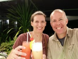 Drinks back in Singapore