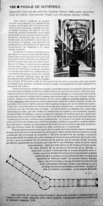 Guía de Arquitectura de Valladolid. Pag. 151