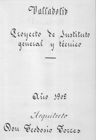 aVA - Cien años del IES Zorrilla - Tipografia