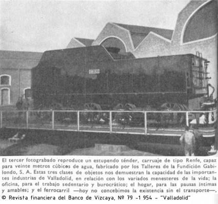 aVA - 1954 - Revista Vizcaya - Fundicion Gabilondo