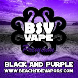 black and purple e liquid