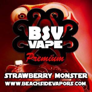 strawberry monster e liquid