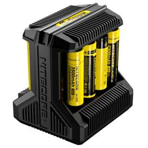 Nitecore i8 Multi-Slot 18650 + Dual USB Intelligent Charger