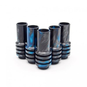 Black and Blue Sniper Drip Tips
