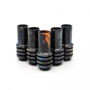Orange and Black Sniper 810 Drip Tip