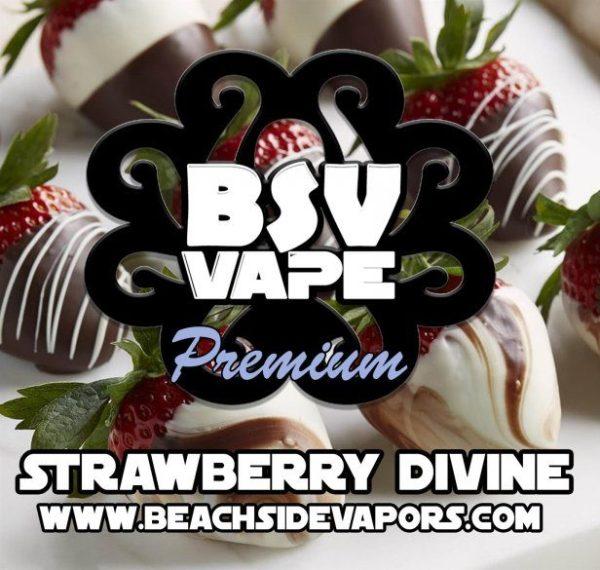 Strawberry Divine White Chocolate E Liquid