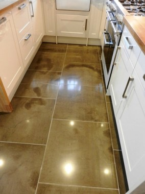 Moroccan Leather Limestone Kitchen After Cleaning