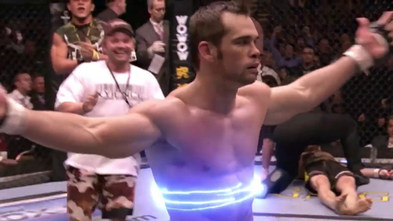 MMA fight with VFX