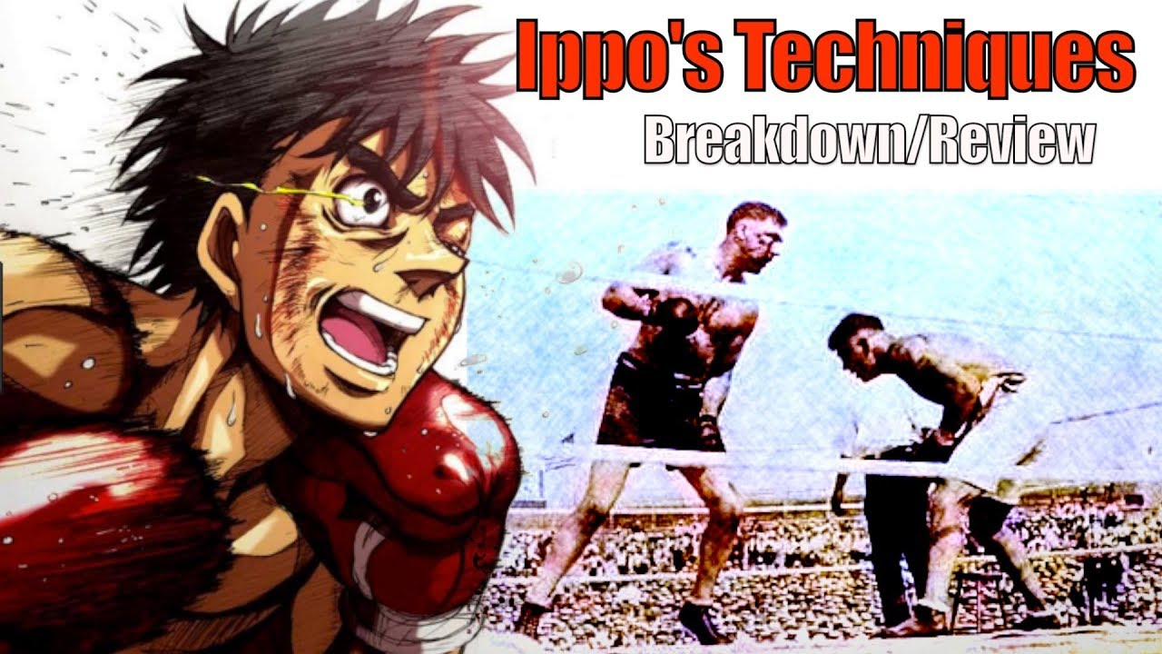 The Real Boxing Techniques of Hajime No Ippo Explained – Review/Breakdown