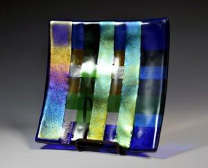 Original fused glass by Kim Pinkerton