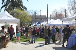 Earth Day at the Farmers Market is celebrated Saturday April 25th from 9am to 1pm