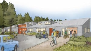Click to enlarge this drawing of the proposed BARN center on 2 acres in the heart of the island.