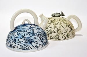 Dawn McNamara, ceramic teapots