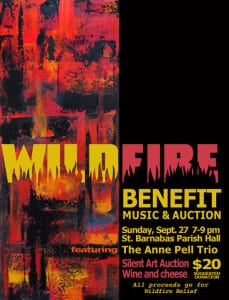 Wildfire Benefit Poster