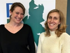 Heather Beckman and Amber Richards are COBI employees and founders of the Pollinators Project