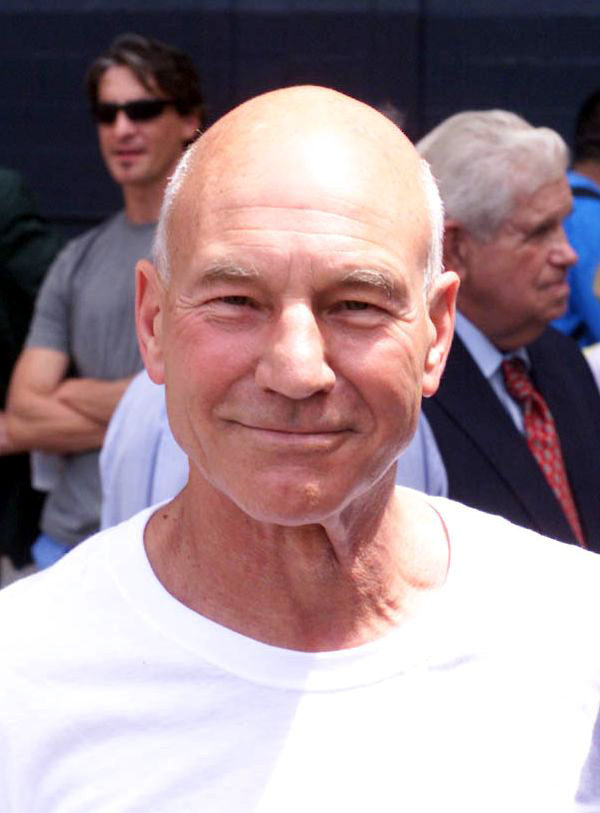 Actor Patrick Stewart was among more than 20,000 soccer fans watching the All-Star game. Stewart sought an introduction to Staff Sgt. Alvy Powell after Powell, a well-known opera singer, performed the National Anthem.