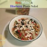Red, White, & Blueberry Pasta Salad