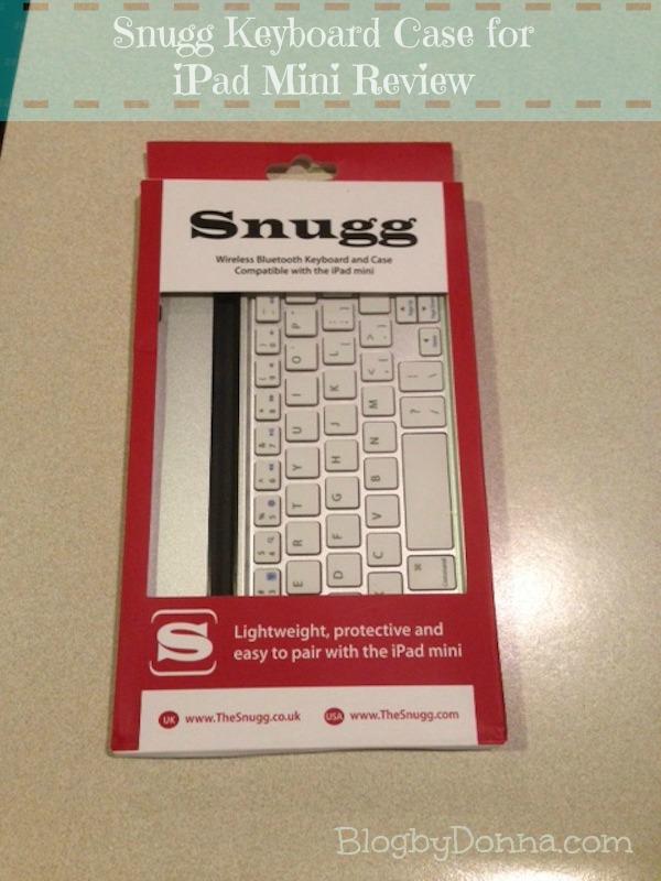 Snugg bluetooth keyboard case for iPad mini