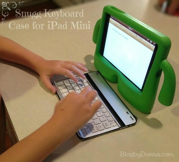 snugg bluetooth keyboard case for the ipad mini