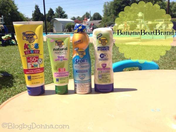 Banana Boat Sunscreen #bananaboatbrand