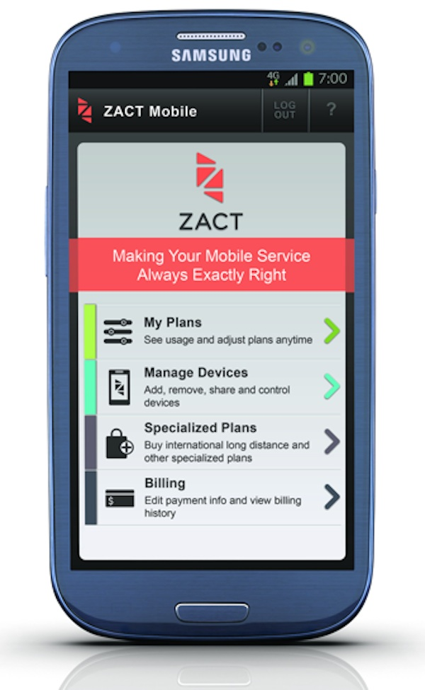 Zact Mobile at Best Buy Mobile Specialty Stores