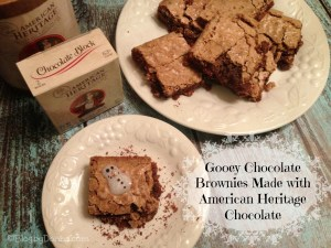 Homemade Gooey Chocolate Brownies