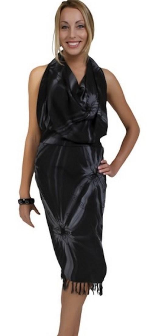 Sarong Draped Dress