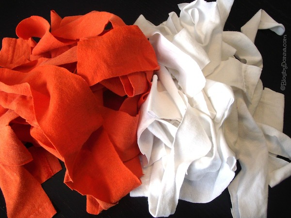 diy t-shirt scrap headband tutorial
