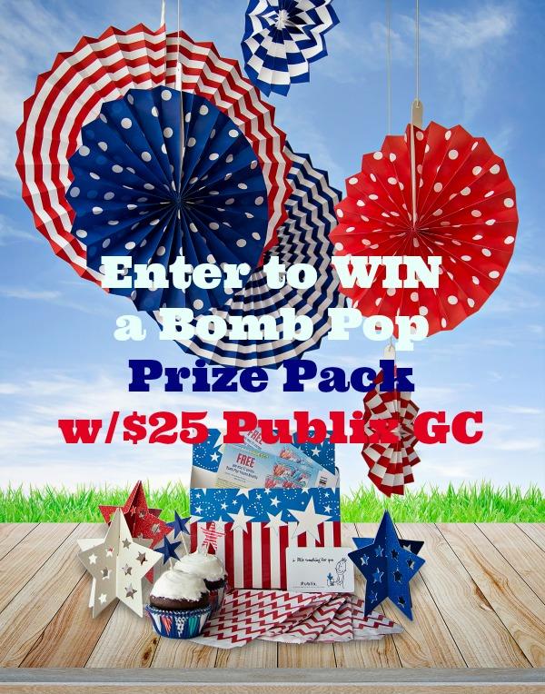 Bomb Pops & Publix Gift Card #giveaway