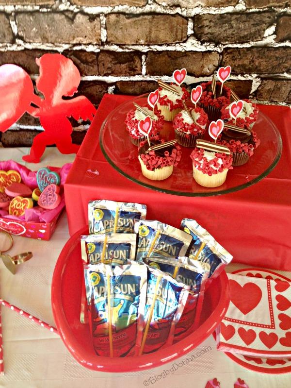 Capri Sun Party Valentine's Day #CapriSunParties #collectivebias