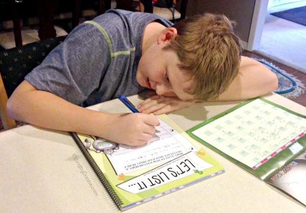 Cody using Kids Wealth May_2015 #kidslearnmoney 1